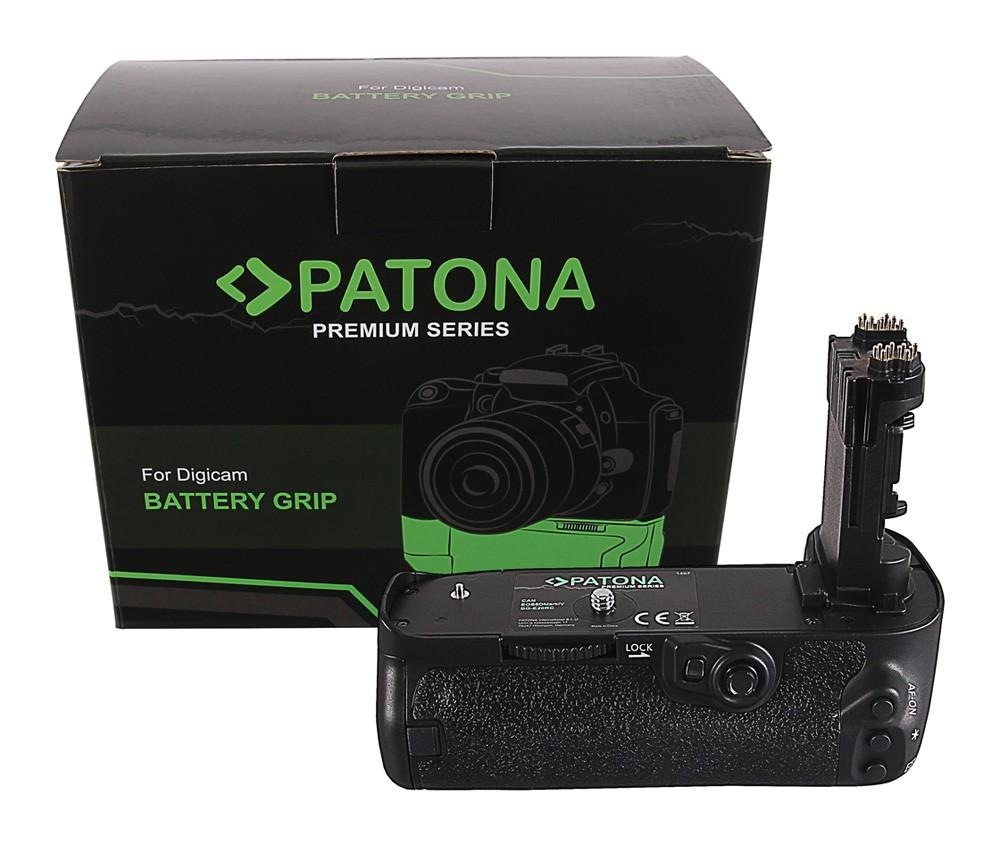 PATONA Premium Battery Grip f. Canon EOS 5D Mark IV BG-E20RC