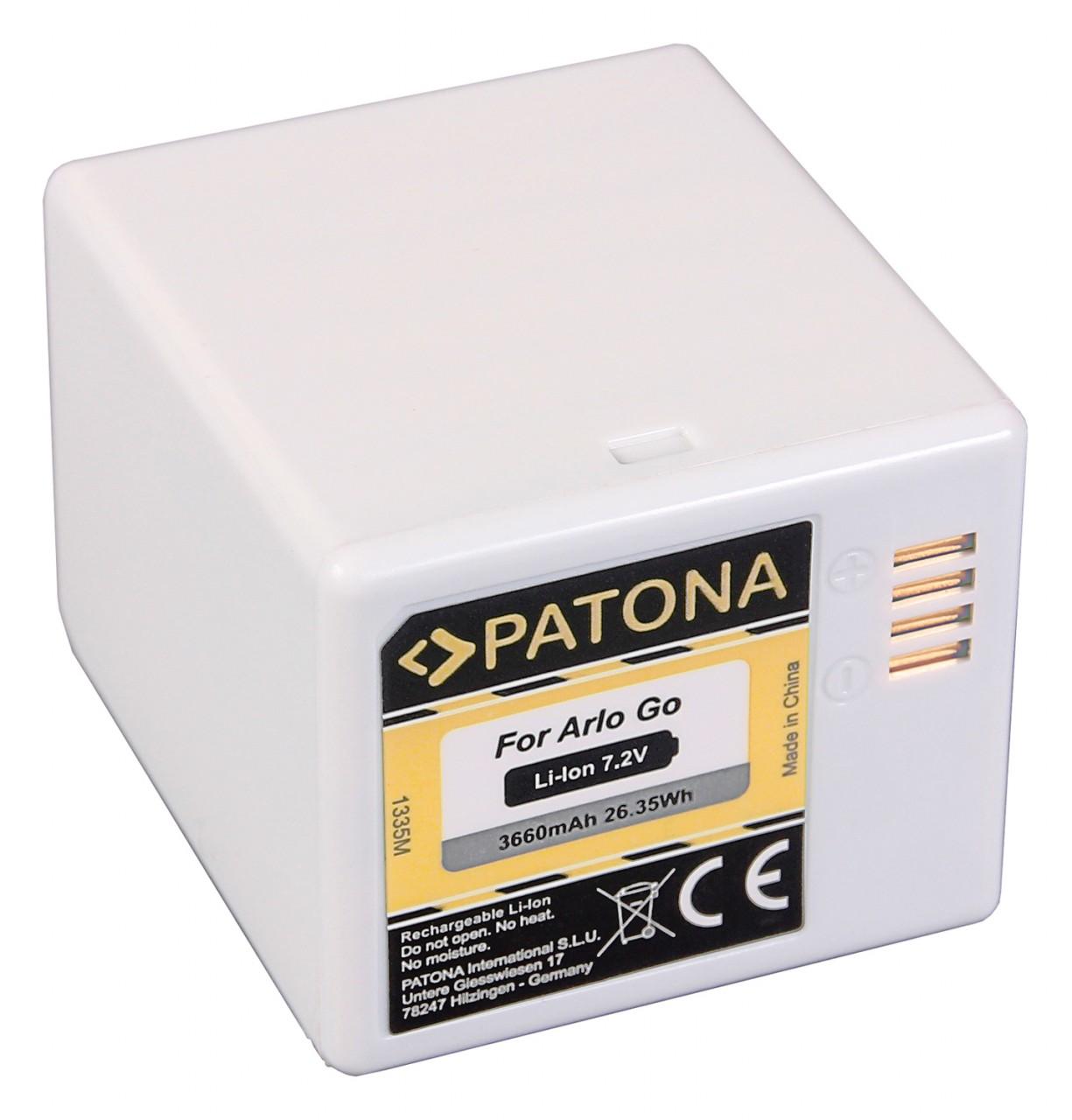 PATONA Battery f. Arlo Go VM4410 VML4030