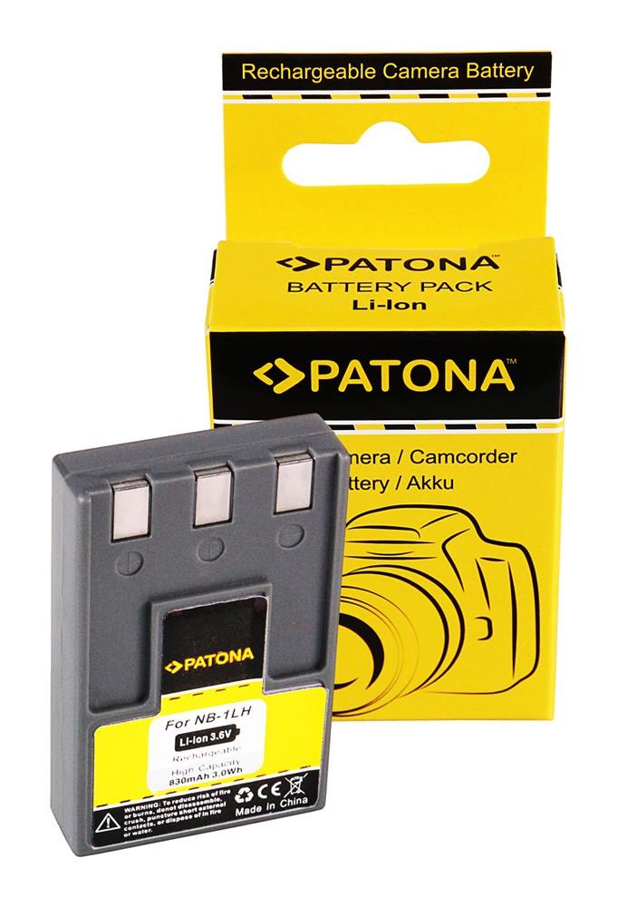Battery Canon IXUS V/V2/V3/300/400/430/500 NB-1LH NB1LH