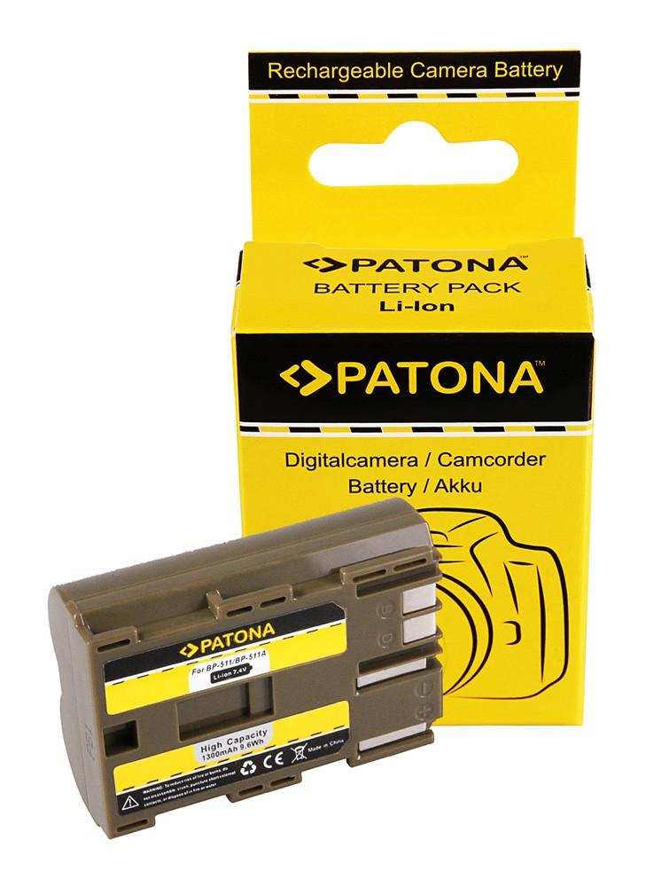 Battery BP-511, BP-512 F. CANON EOS-D30 D60 G1,G2..