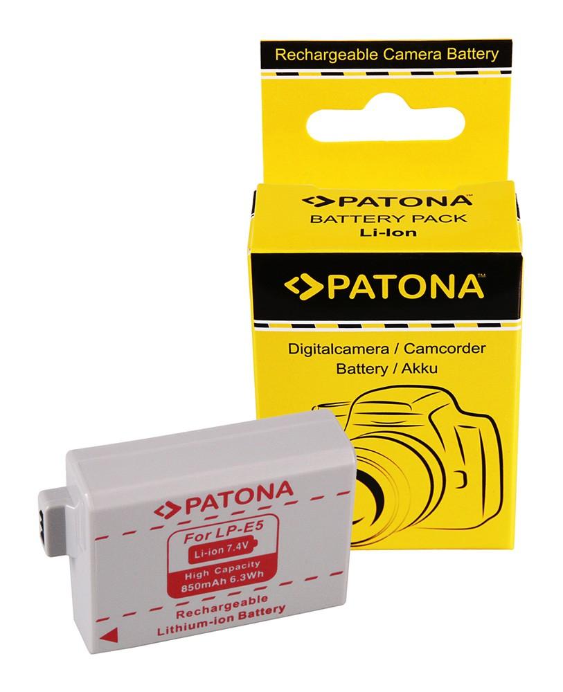 Battery CANON LP-E5 LPE5 EOS-450D EOS 450D EOS450D EOS1000