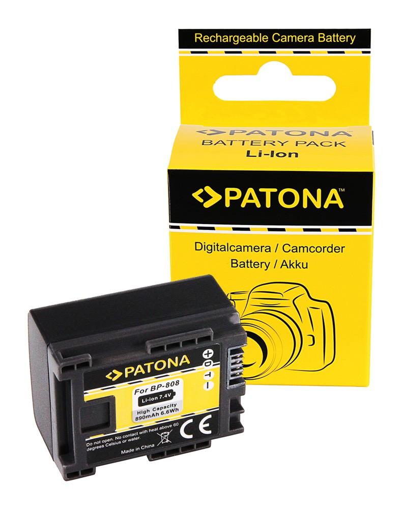 Battery CANON BP819 BP827 BP808 BP809 HF100 HG-20 wireless