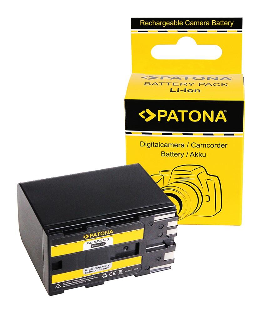 PATONA Battery f. Canon BP-925 BP-955 BP-970G BP-975 EOS C10