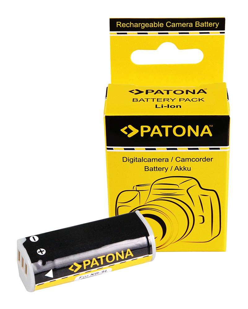 PATONA Battery f. Canon NB-9L Digital IXUS 1000 1000HS 1100H