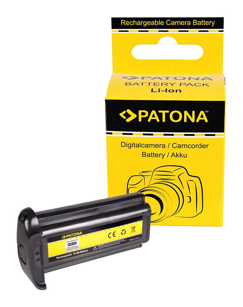 PATONA Battery f. Canon NP-E3 EOS-1D Mark II EOS-1Ds Mark II