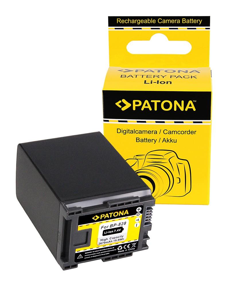 PATONA Battery for Canon HF-G30 Canon XA20 Canon XA25 Canon