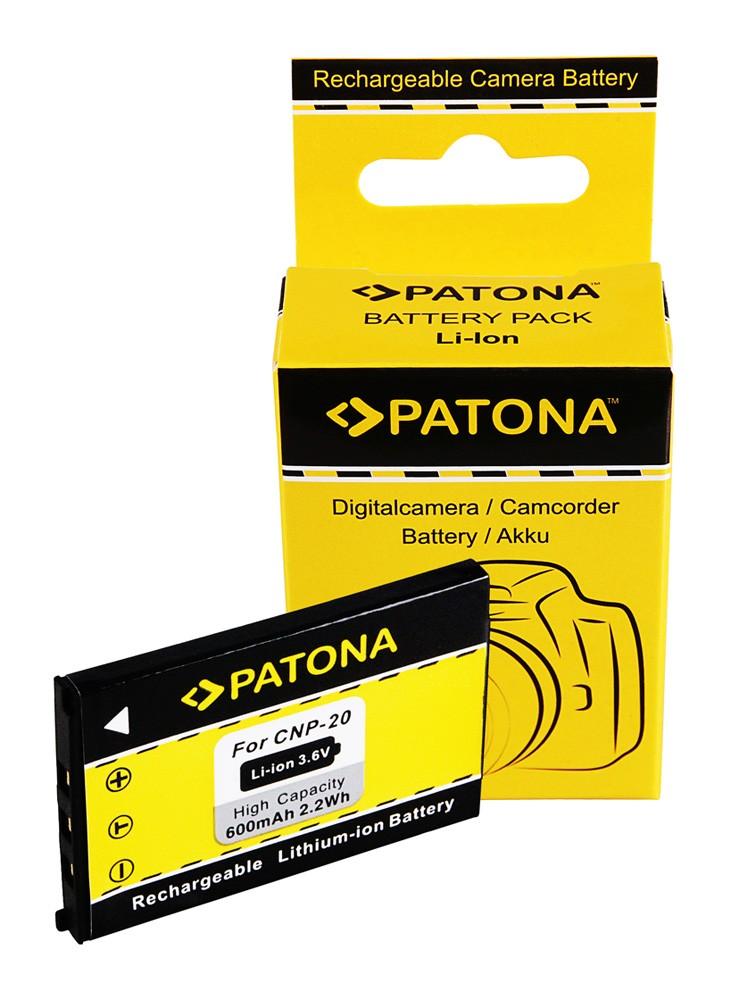 Battery f. Casio EX-Z3 Z4 Z-5 S1 S2 S3 EX-S70 NP-20 NP20