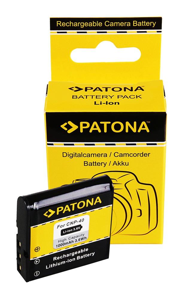 Battery Casio NP-40 Exilim Zoom EX-Z100 EX-Z1000 EX-Z200