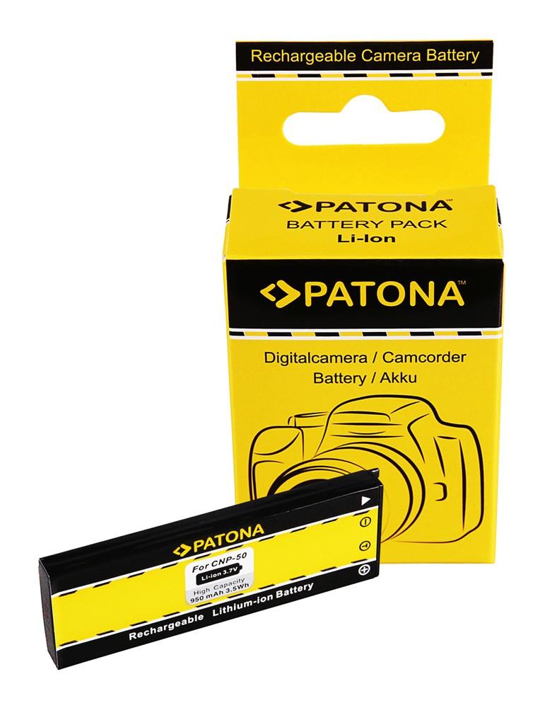 Battery f. Casio Exilim EX-V7 V-7 EX-V8 V-8 NP-50 NP50