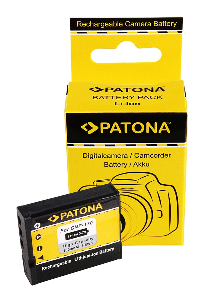 Battery. Casio Exilim EX-H30 EX-ZR100 ZR100 NP130 NP-130