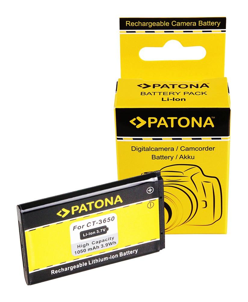 PATONA Battery f. CONTOUR CT-3650 GPS HD 1080P
