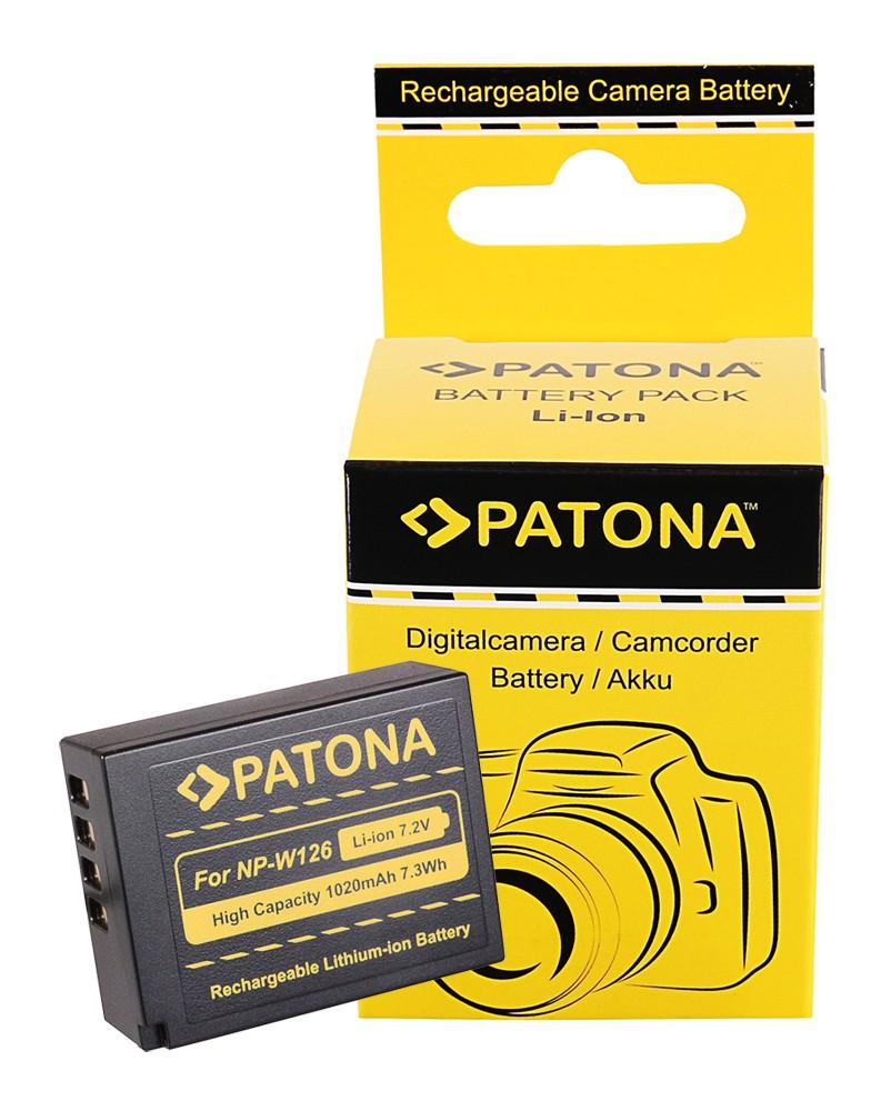 Battery f. Fuji NP-W126 HS33 EXR Fujifilm FUJI Finepix -Pro