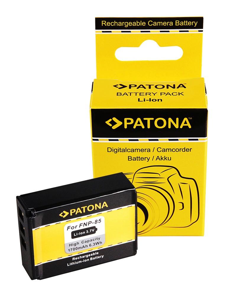 PATONA Battery f Fuji NP-85 Fujifilm Finepix F305 SL240 SL26