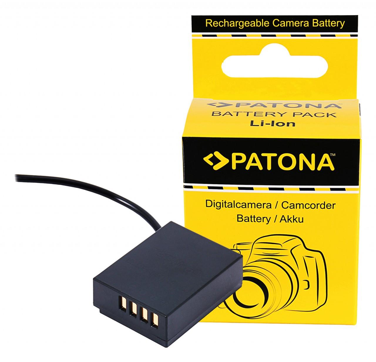 PATONA D-TAP Input Battery Adapter for Fuji X-T3 VPB-XT3 NP-