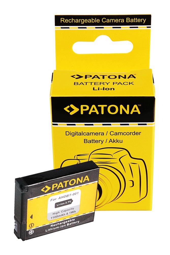 PATONA battery for GoPro Hero ABPAK-001 AHDBT-001 GoPro HD H