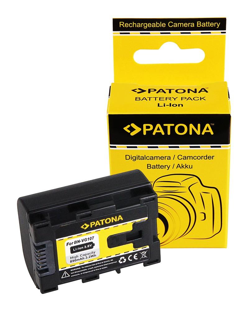 PATONA battery f. JVC BN-VG107 BN-VG107AC BN-VG107E BN-VG107