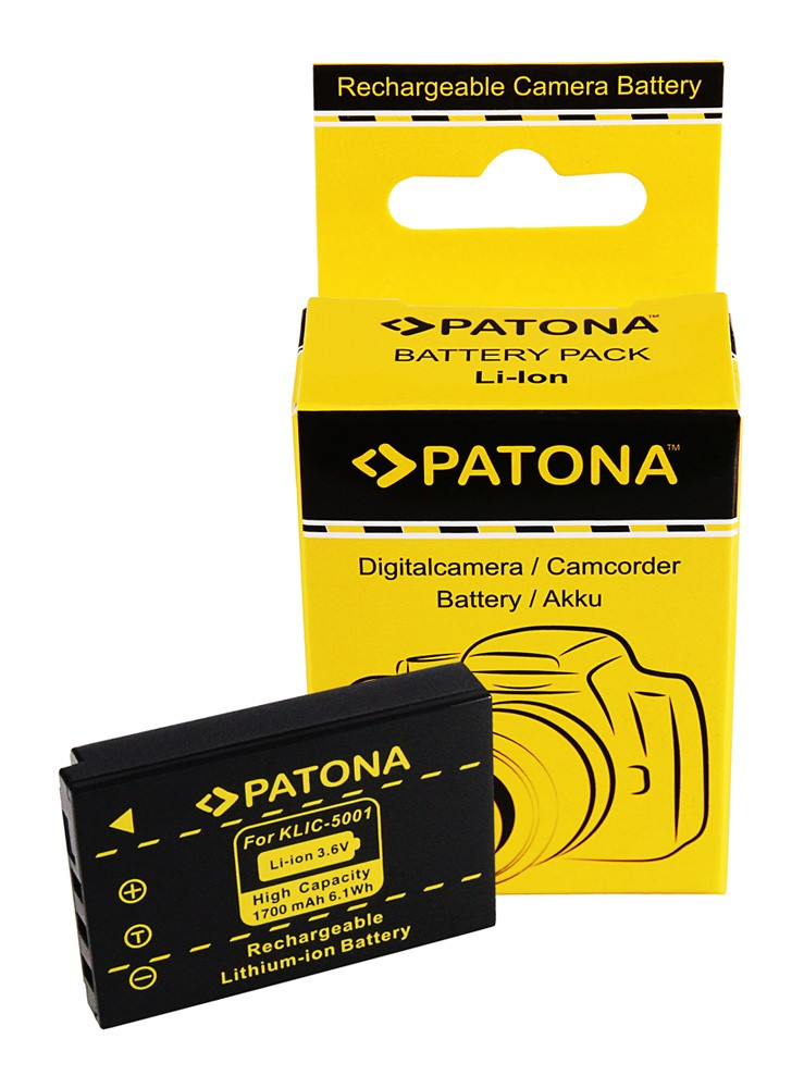 Battery Kodak EasyShare Z730 DX7630 DX7590 Klic-5001