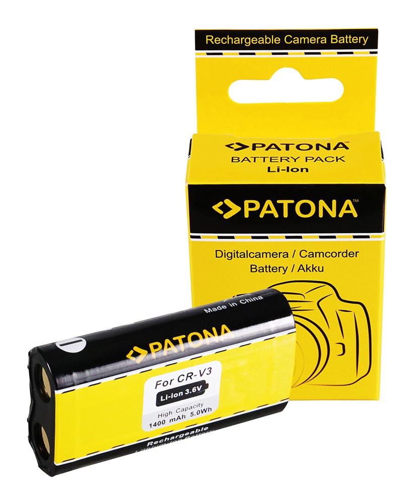 Battery f. RCR-V3-Li-Ion CR-V3 CRV3,CR-V3P/LB01