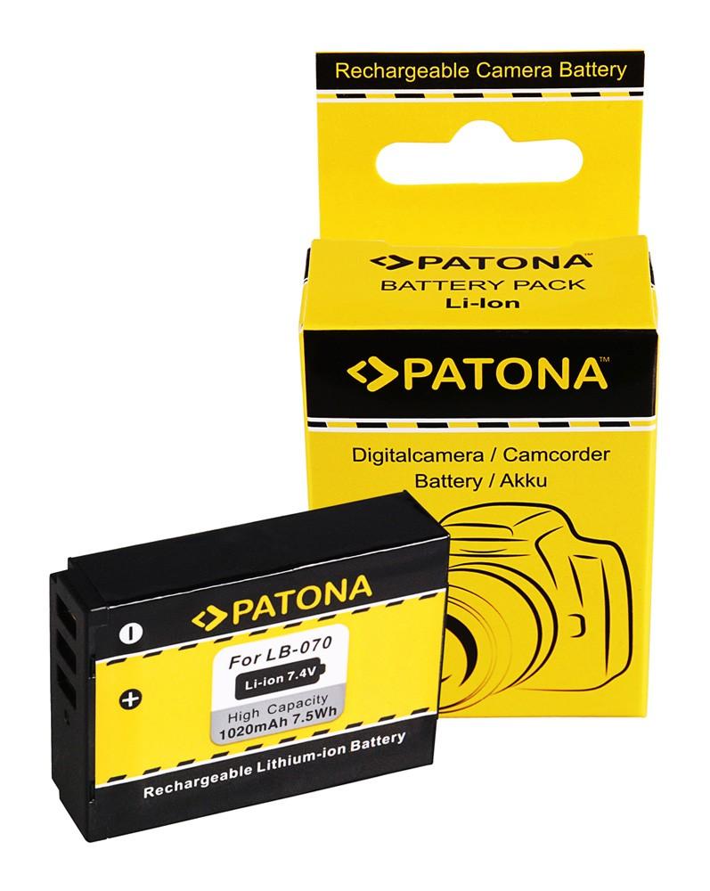PATONA Battery f. Kodak LB-070 PPIXPRO S-1