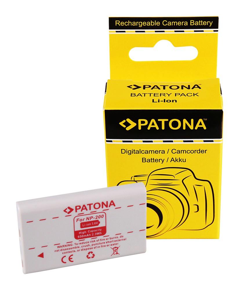 Battery F. MINOLTA DIMAGE NP200 NP-200 X/Xg/Xi/Xt