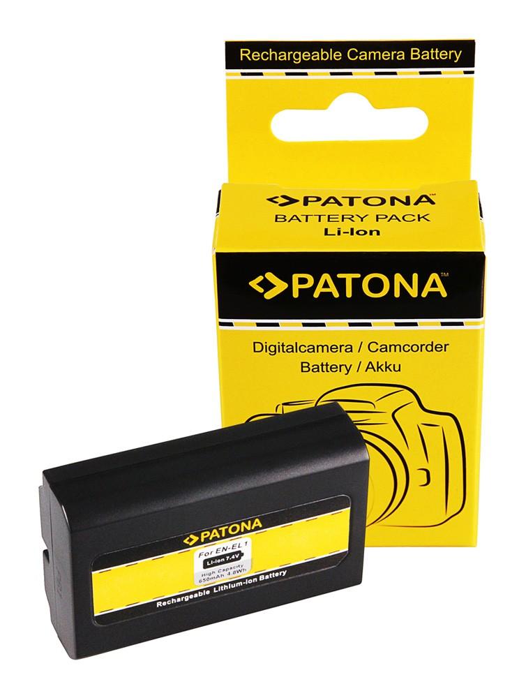 Battery f. EN-EL1 Nikon Coolpix 995 4800 4500 5400 8700