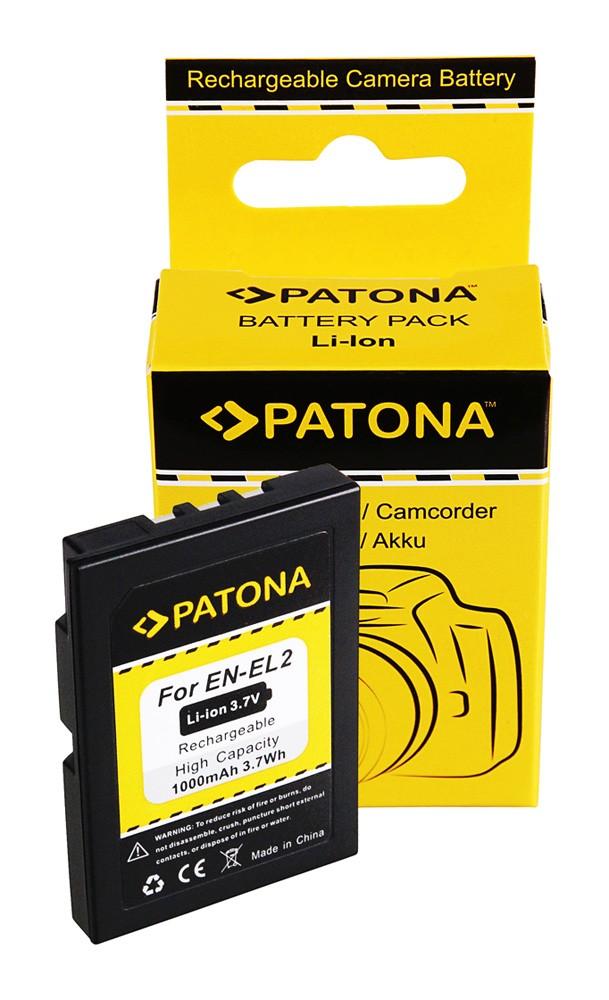 Battery for NIKON EN-EL2 COOLPIX 2500/3500 ENEL2