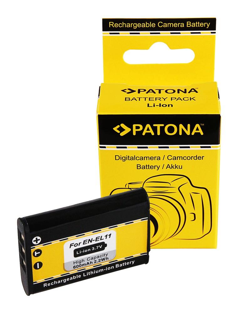 Battery Nikon Coolpix S560 S550 S-560 S-550 EN-EL11 ENEL11