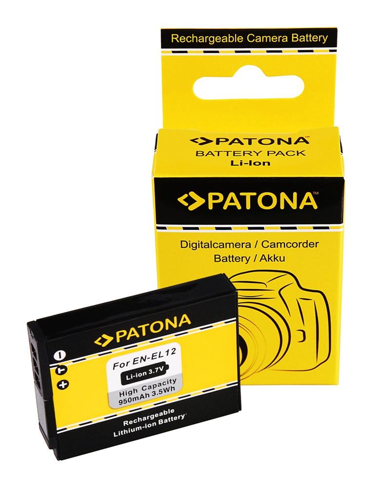 Battery Nikon CoolPix P300 S70 S710 S610 S610c S620 ENEL12