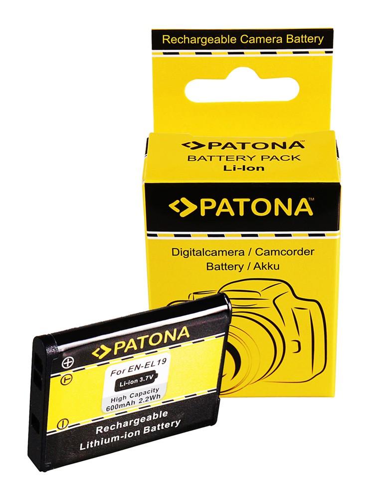 Battery for Nikon CoolPix S4100 S3100 S2500 EN-EL19 ENEL19