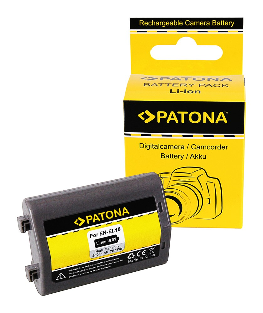 PATONA Battery for Nikon D4 D4S D5 D810  EN-EL18 ENEL18 *Sam