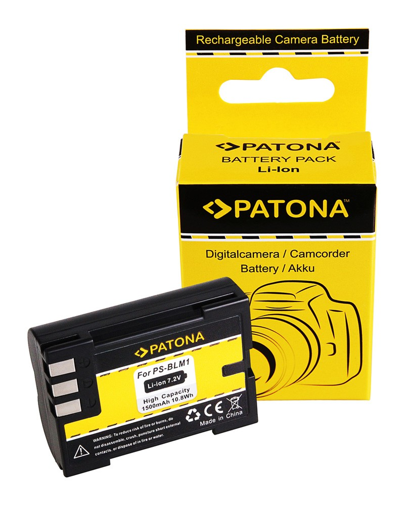 Battery f. Olympus PS-BLM1 7070 8080 E-3 E-30 E300 E330 E500