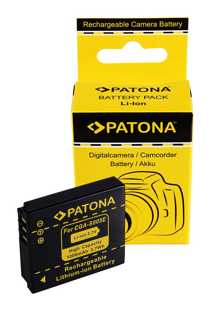 Battery LUMIX DMC-FX3 FX07 DMC-FX50 DMC-LX2 CGA-S005