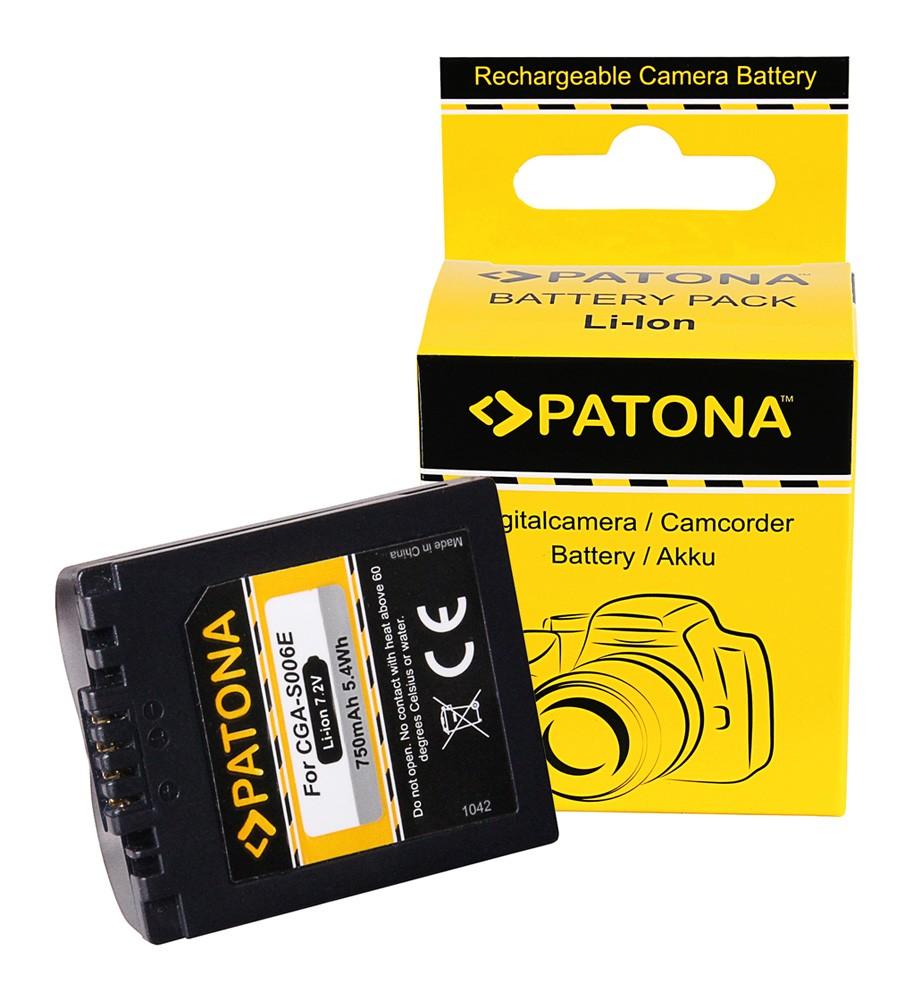 Battery PANASONIC LUMIX DMC-FZ50, FZ7, FZ8 CGR-S006