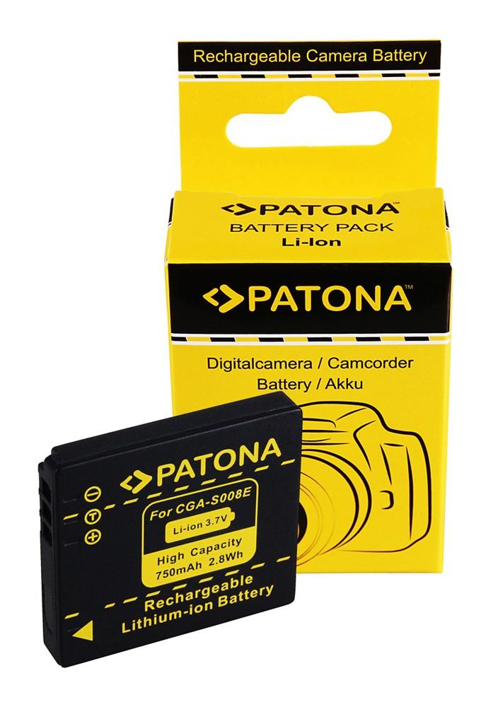 Battery for Panasonic DMC-FX30 FX-30 CGA-S008E DMW-BCE10E