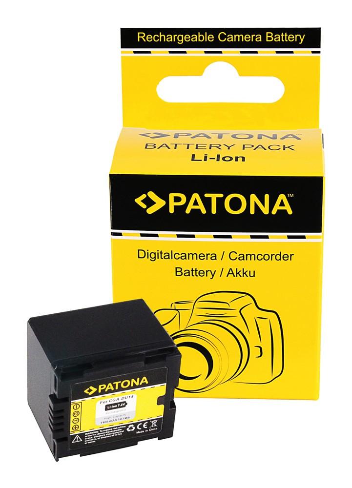 Battery NV-GS250 NV-GS150 NV-GS140 NV-GS75, CGA-DU14