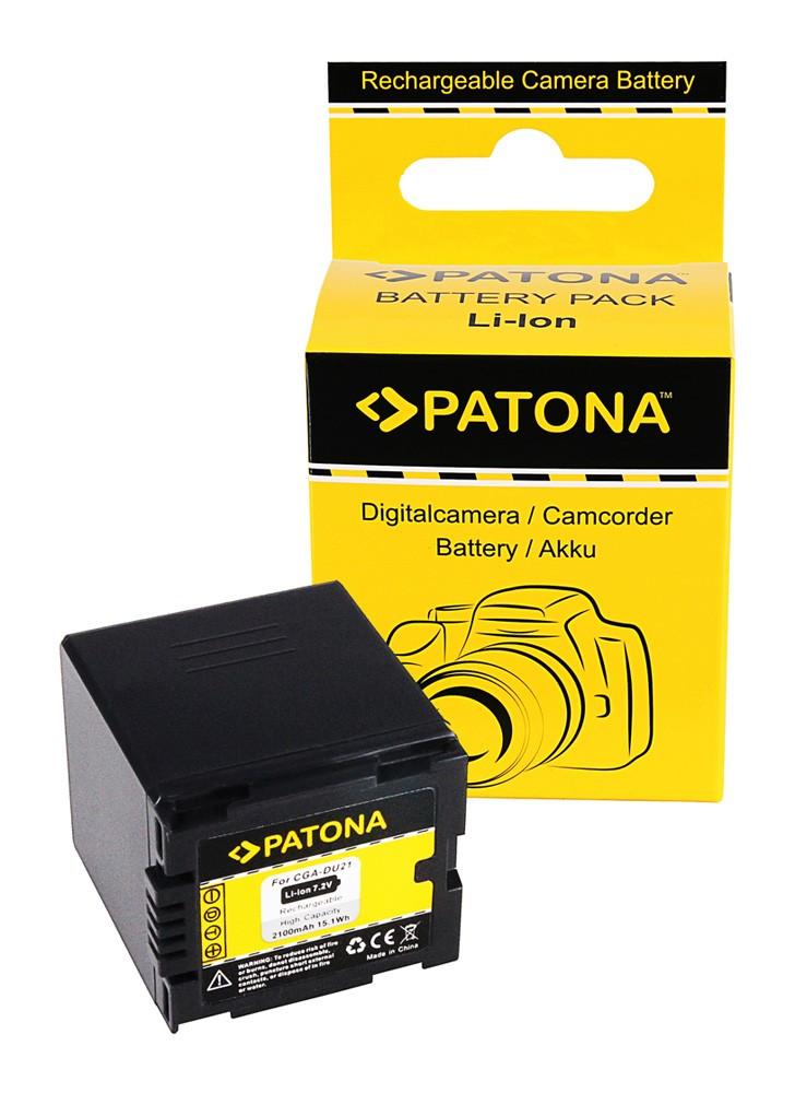 Battery NV-GS250 NV-GS150 NV-GS140 NV-GS75, CGA-DU21