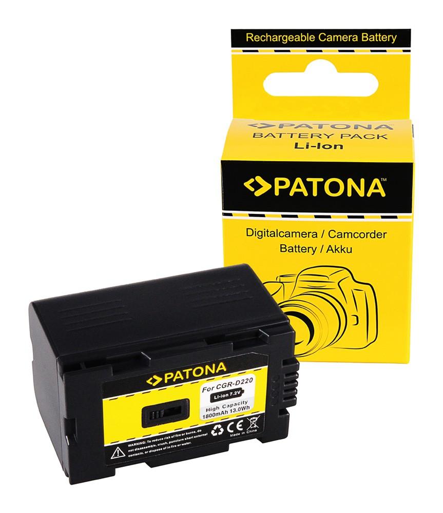 Battery for PANASONIC CGR-D220 CGR-D16 NV-Serie