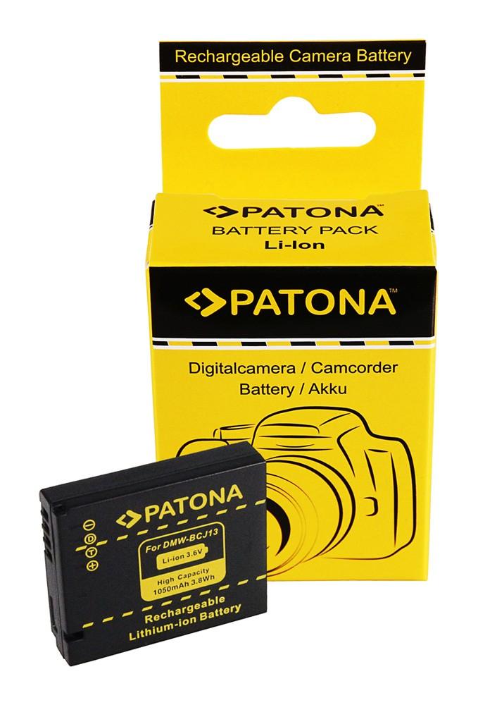 Battery f. Panasonic BCJ13 DMW-BCJ13 BCJ13E BCJ13E LX-5 LX5