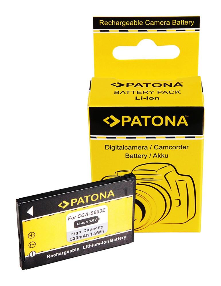 Battery f. Panasonic CGA-S003E SA-SA30 SV-AS10 SV-AV50 SV-AV