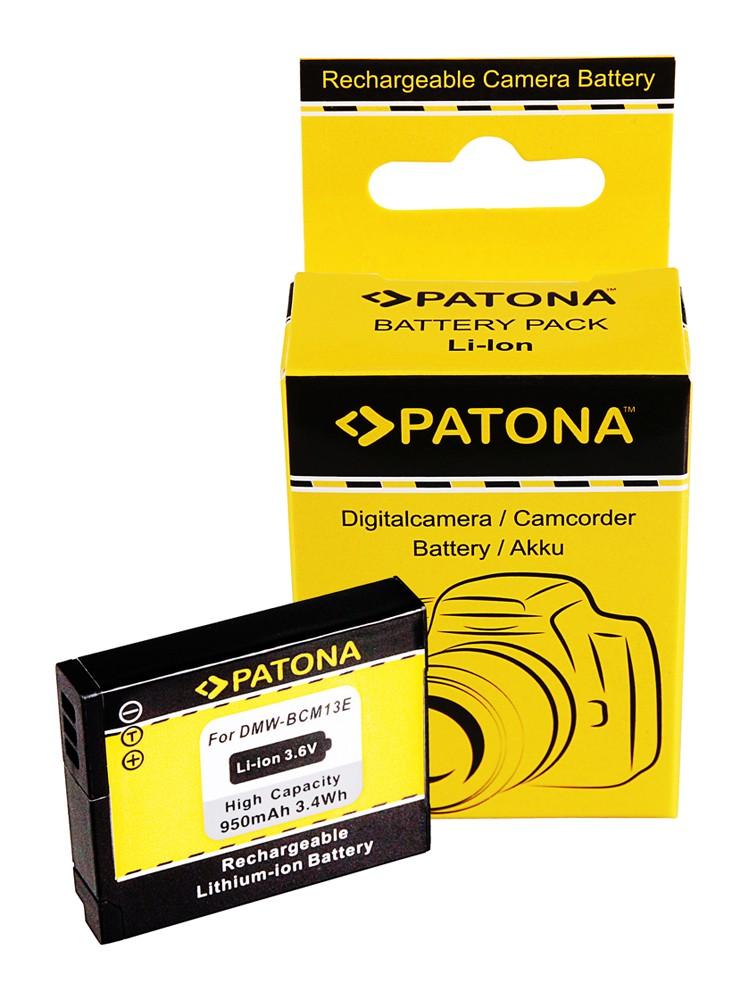 PATONA battery f. Panasonic DMW-BCM13 DMC-ZS30 DMC-TZ40 DMC-