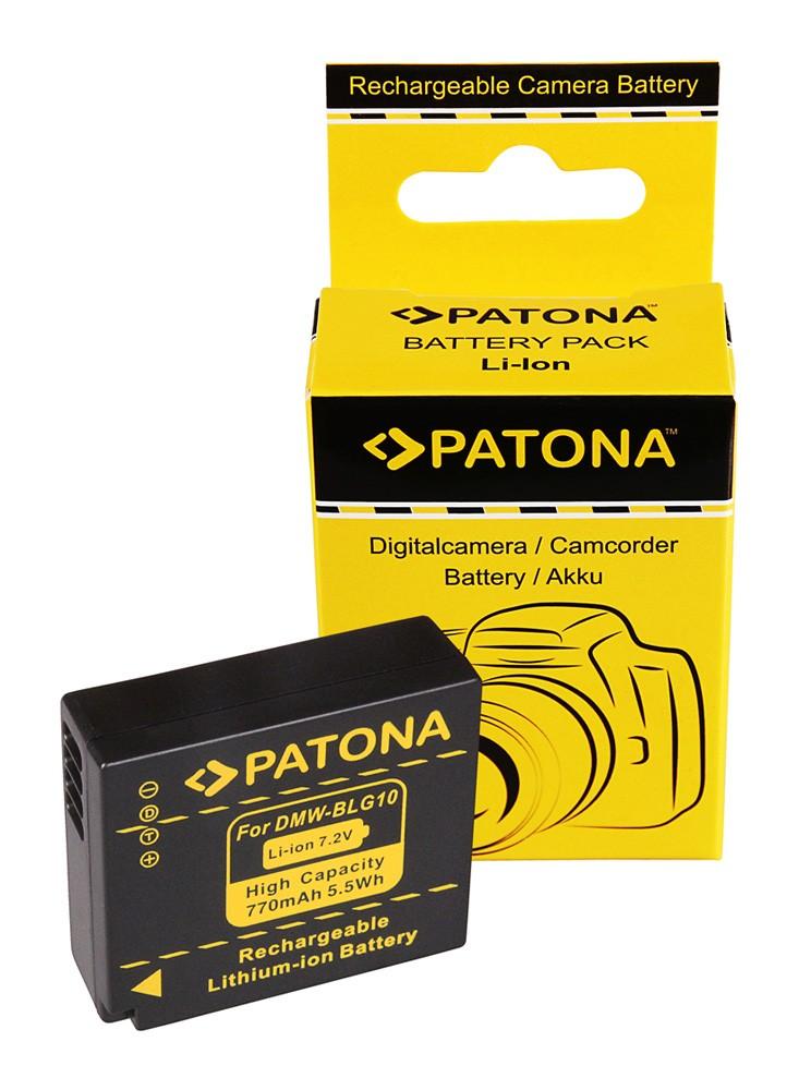 Battery f. Panasonic DMC-GF6 DMW-BLG10 DMW-BLG10E CS-BLG10MC