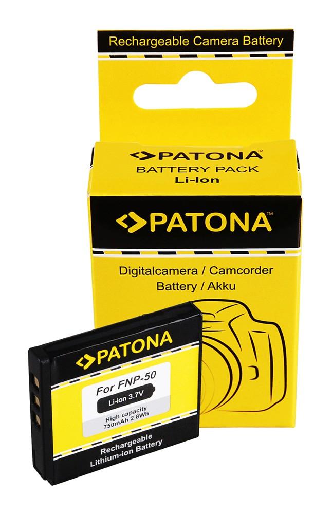 Battery Fuji FinePix F50fd FinePix 100fd Fuji NP50 NP-50