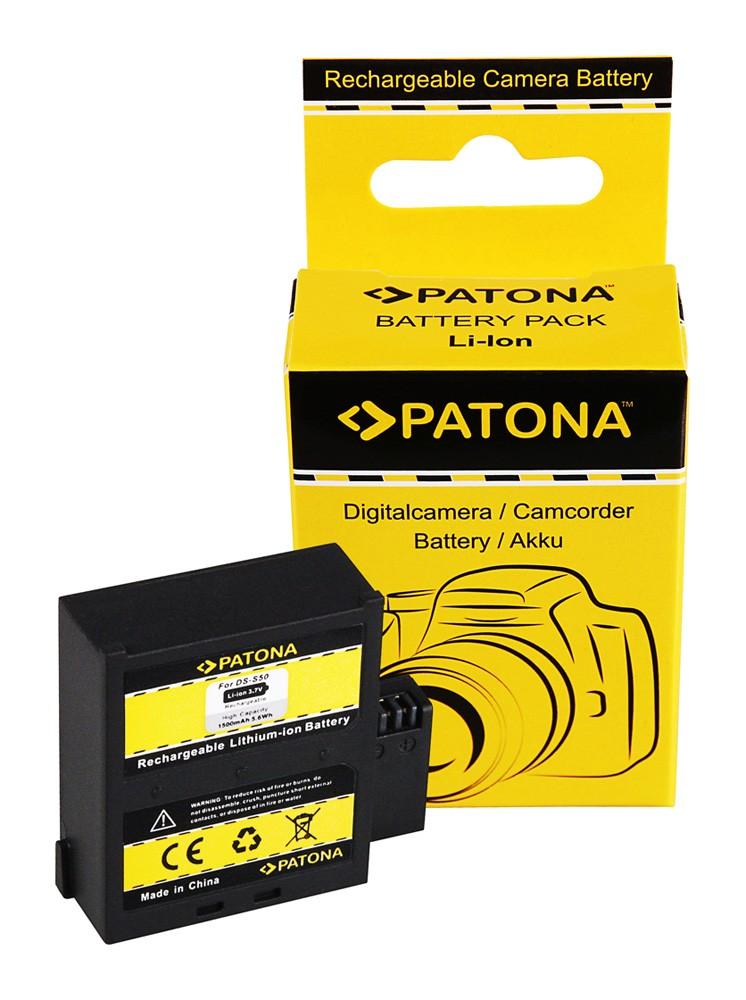 PATONA Battery f. AEE D33 S50 S51 S71 S70 DS-S50