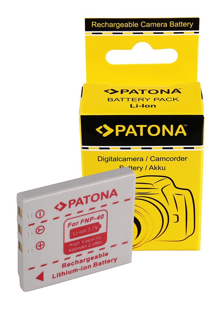 Battery FUJI FINEPIX NP-40 NP40 F402 F610 F700 F810 Pentax
