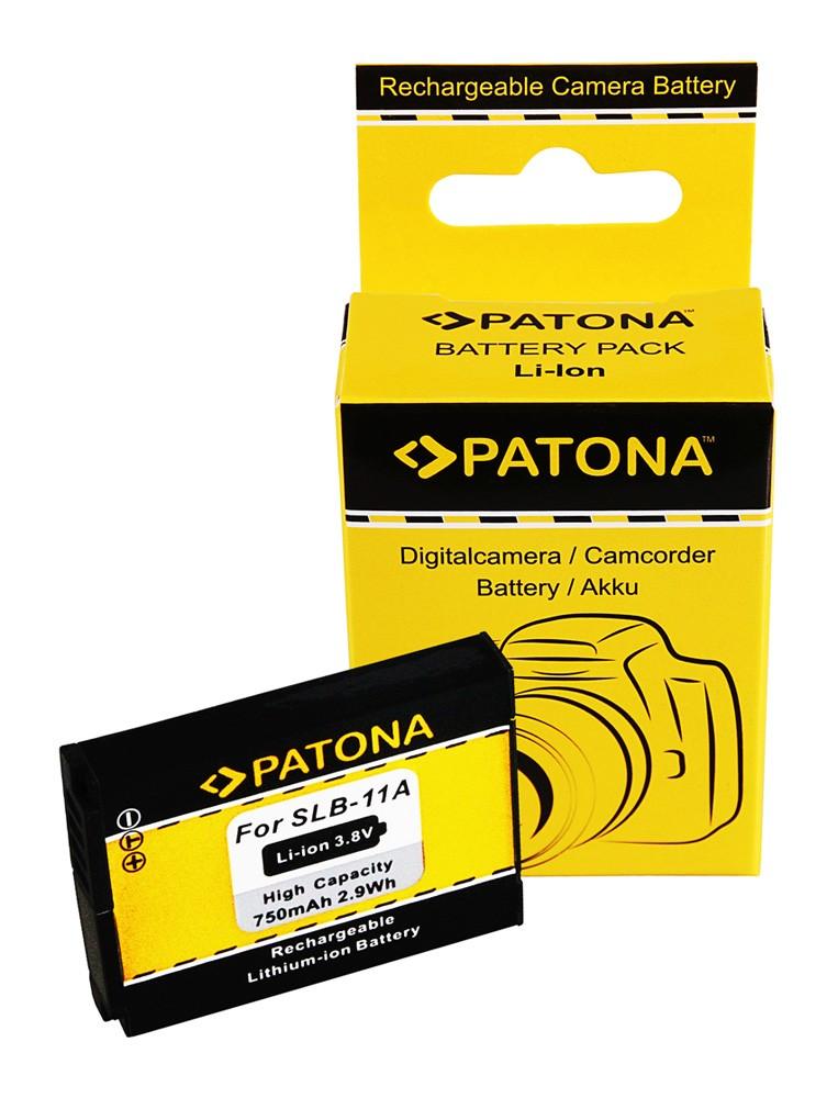 PATONA Battery for Samsung SLB-11A SLB11A WB100 WB610 WB650
