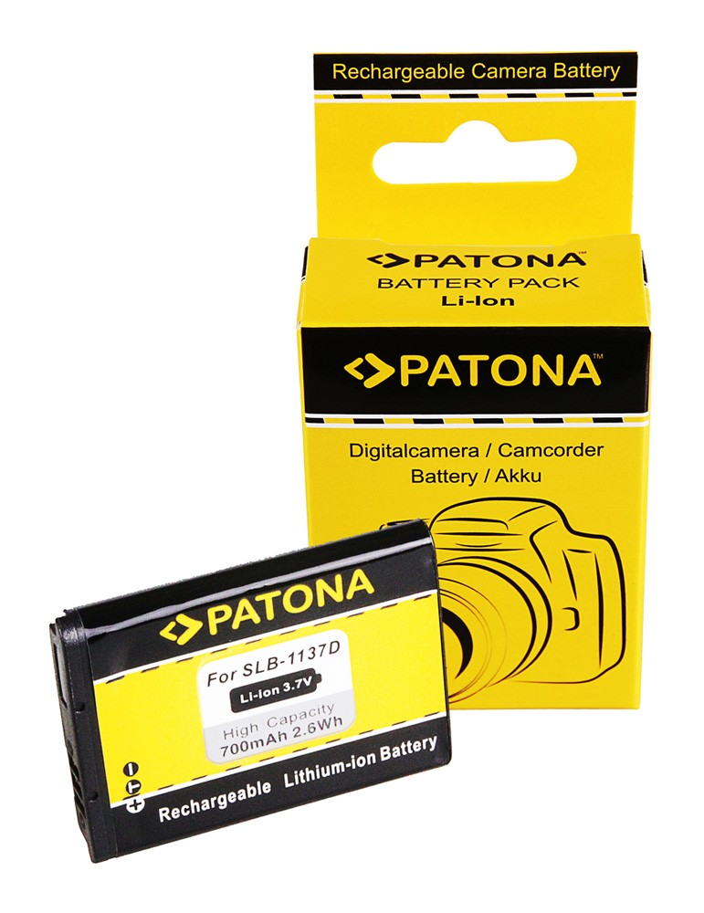 PATONA Battery f Samsung Digimax i85 L74 wide NV11 NV24 HD N