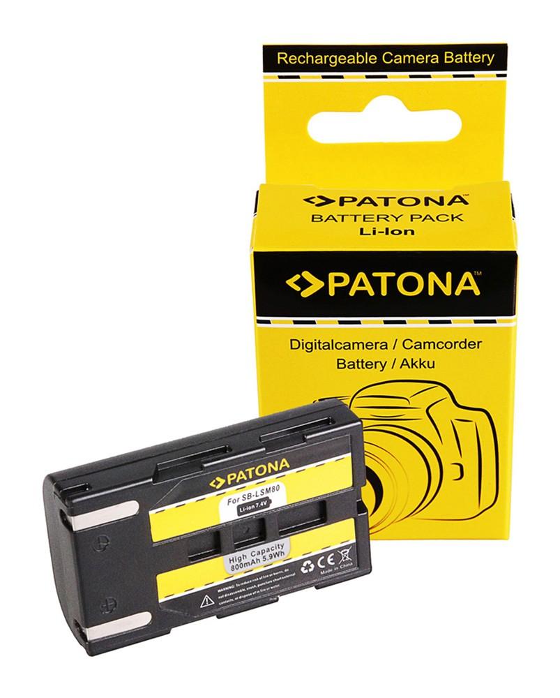 Battery f. Samsung SB-LSM80 163i 350i 467i D351i D352i D453i