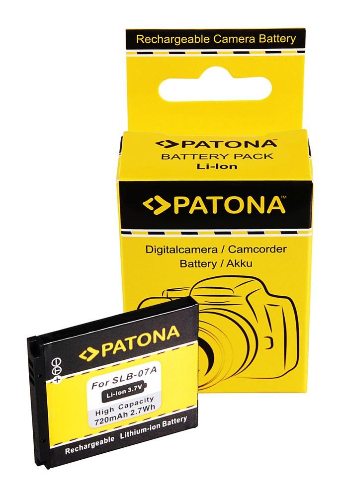 Battery f. Samsung SLB-07A PL150 PL150 ST50 ST550 TL90 TL100