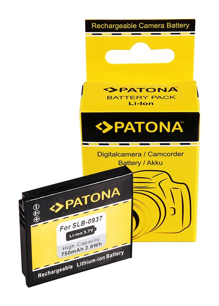 PATONA Battery f. Samsung SLB0937 Digimax CL5 L730 L830 NV33