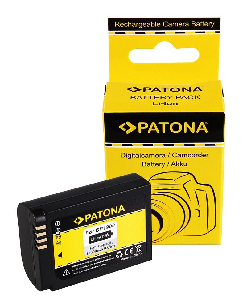 PATONA Battery f. Samsung NX1 NX-1 ED-BP-1900 BP-1900